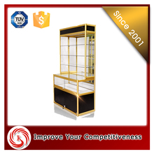 Fashion mobile store fixture glass cell phone accessory display rack stand