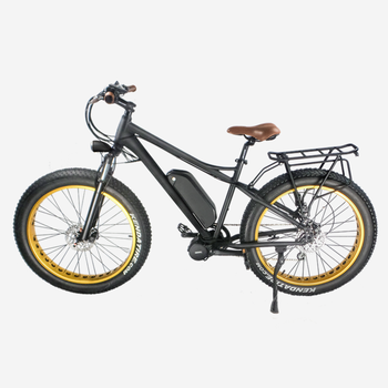 Fat Tire Electric Bike/Bicycle, Beach cruiser Sport Ebike, 8fun Bafang Motor for choice