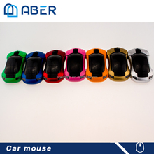 Fashion Gift Mini USB Wireless Mouse Car Optical Mouse for Laptop PC