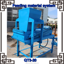 High quality hand operated clay/mud/soil interlocking brick making machine price