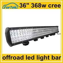 "highest power led work light 36"" quad rows led light bar 468W cree for tanks, tractors, marine"