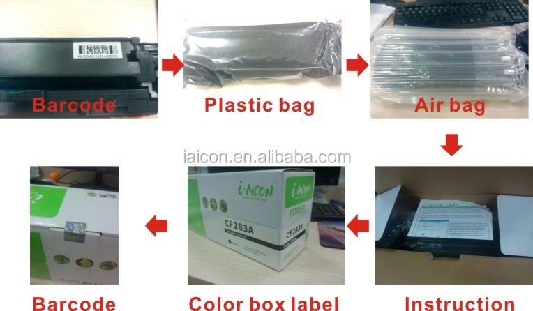 Compatible color toner cartridge for TN413/613