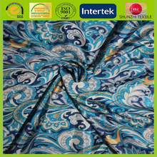 Suzhou Printed Lining Pongee Fabric for jacket lining