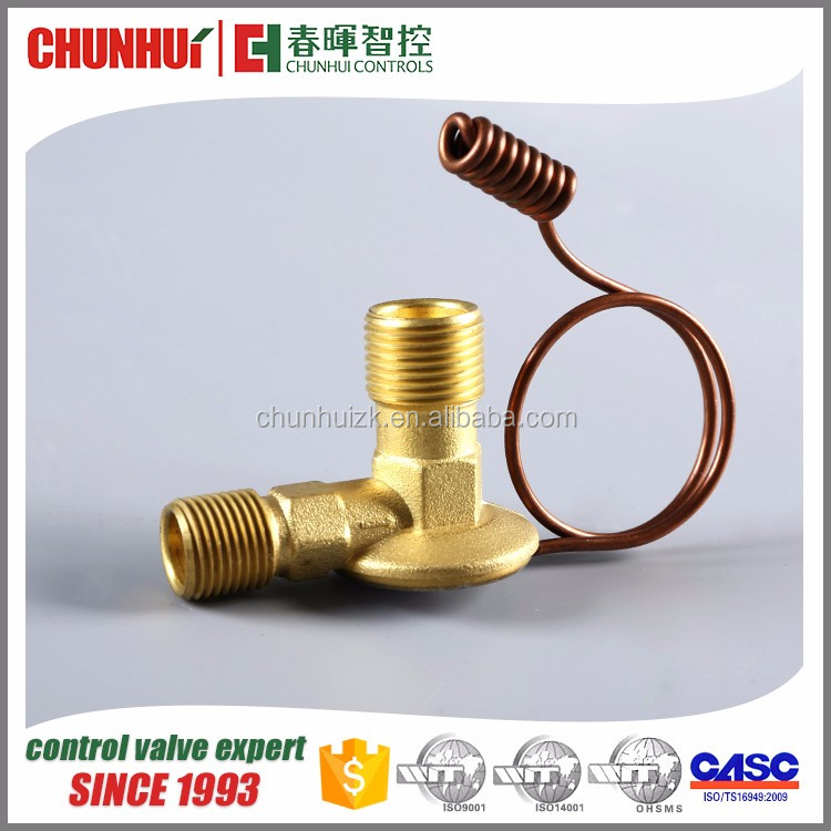top quality brass wholesale electric air control valve, thermostatic expansion valve