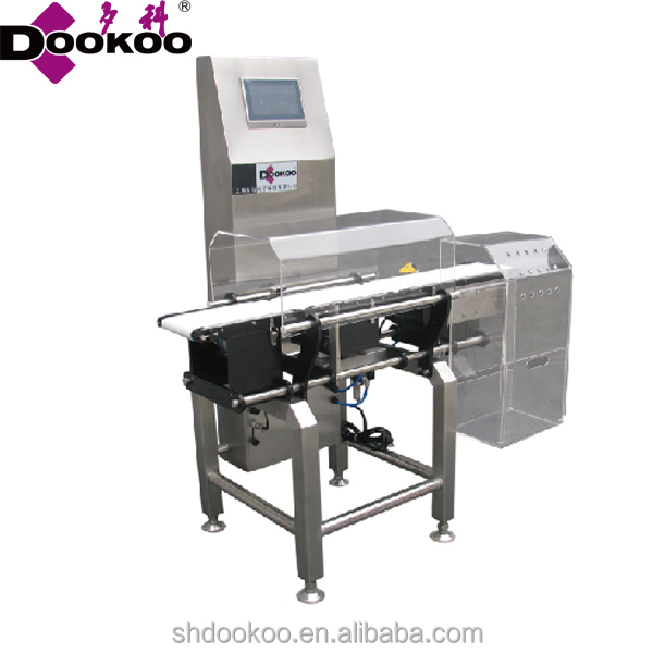 Door to door full automatic weighing scales,auto check weigher