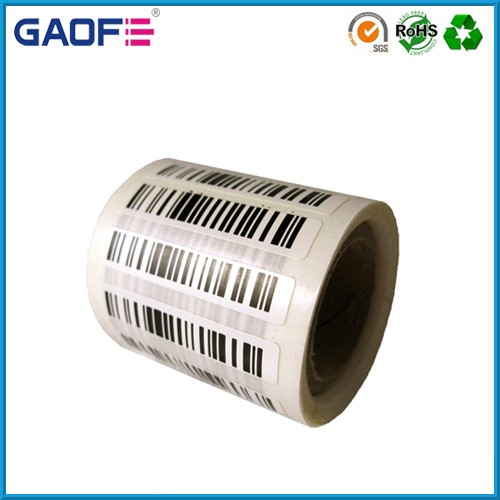 Wholesale waterproof sticker label,Custom vinyl adhesive stickers, high temperature barcode labels