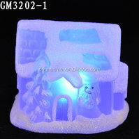 LED Lights Miniature Christmas Village Houses for Sale