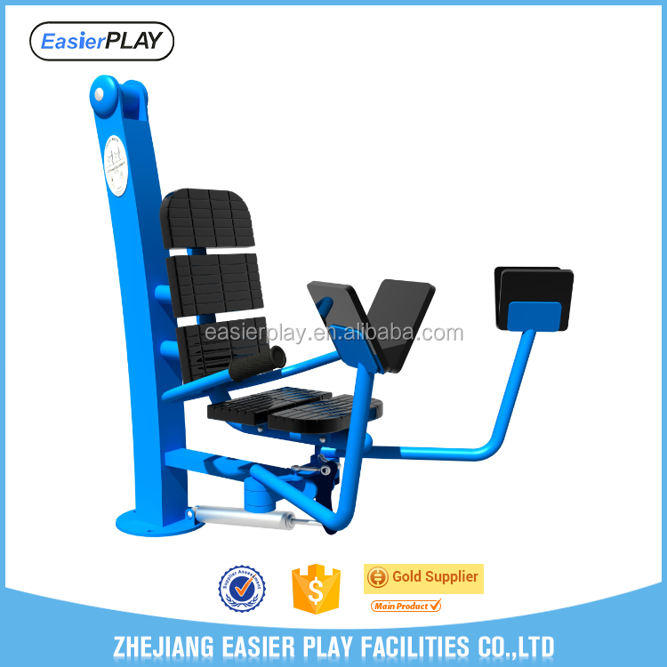 Adjustable positions outdoor fitness equipment fitness hydraulic