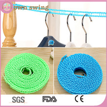 Indoor Outdoor Home Travel Drying Laundry Retractable Windproof Clothesline 3m/5m Washing Line Clothes Rope