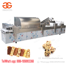 Stainless Steel Automatic Peanut Sesame Candy Production Line Granola Energy Bar Making Machine