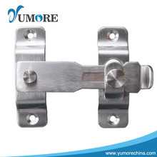 Modern design stainless steel door surface mounted flush bolts