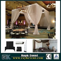Aluminum truss trade show booth | free standing photo booth