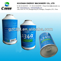 12oz R134a car Refrigerant with DOT certified can in good quality