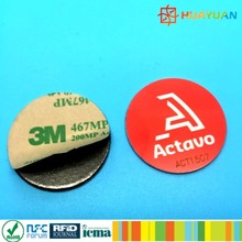 13.56MHz ISO15693 PVC lamination 3M rewritable NTAG215 NFC tag sticker