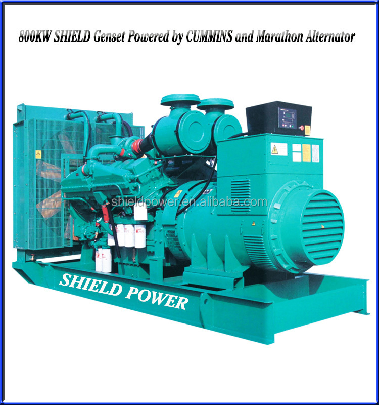 SHIELD Power Super Silent Generator Set, Soundproof Diesel Generator, Waterproof Genset