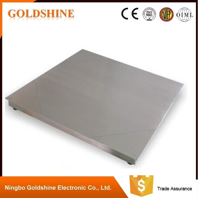 Be suitable for weighing suspending goods high quality 304 stainless Steel Floor Scale
