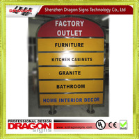 Top sale cheapest outdoor signboard advertising sign for Republic of Trinidad and Tobago