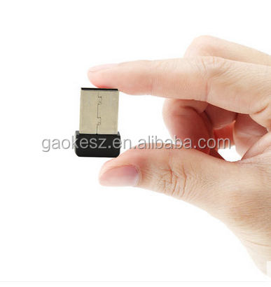 150Mbps mini wifi USB adapter for computer, desktop, laptop