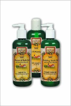 Natural Olive Oil And Dead Sea Skin Care, Hair Care & Bath