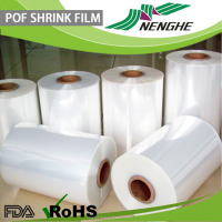 food grade bag POF heat shrinkable film plastic film roll