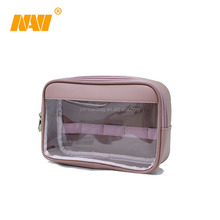 clear pvc cosmetic bag make up bag for travel