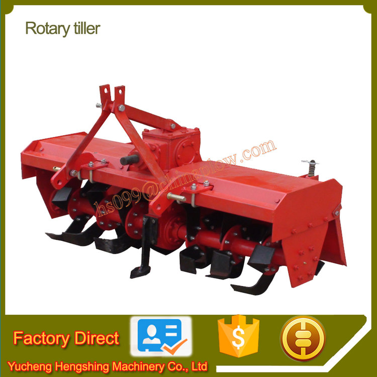 Agricultural rotator rotary tiller for tractors