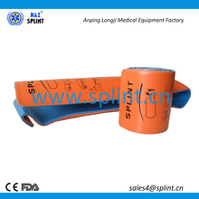 "SAM 36"" Rolled Orange Blue Splint"