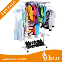 JP-CR511 Indoor Outdoor Organizer Hanging Folding Clothes Line Drying Rack Laundry Hanger