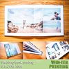 WT-COB-1366 PVC & paper cover wedding photo album