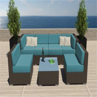 Relax used wicker rattan living room furniture sofa for sale