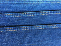 Factory direct manufactory 100% cotton stocklot twill traditional denim fabric for jeans