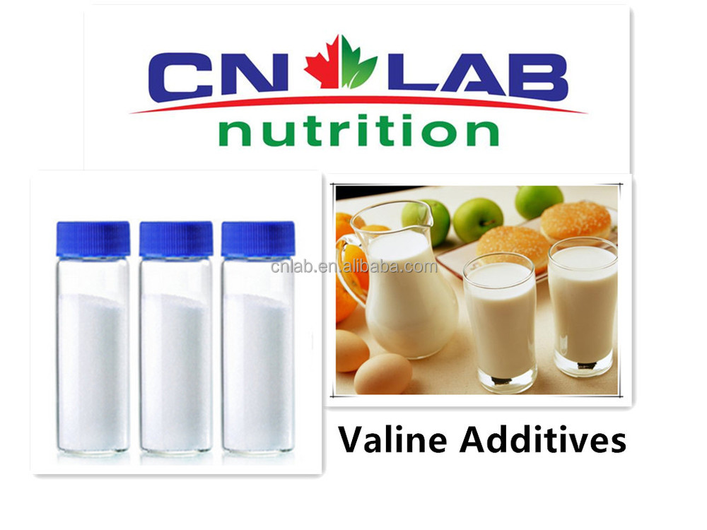 Identified Food Additives Valine for Enhancing Food Flavour for Cheese and Bread