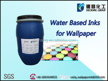 2015 HOT SALE guangzhou high gloss wallpapers silk screen SW3755 water based printing ink