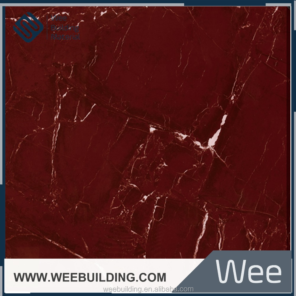 full polished red and black ceramic tiles backer border foshan