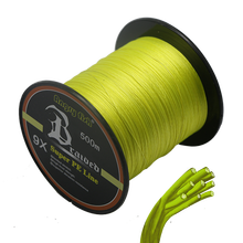 New Item round 9 strands fishing lines 500m thin diameter with high strength