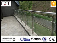 mordern out door stainless steel balcony stair handrail for safe