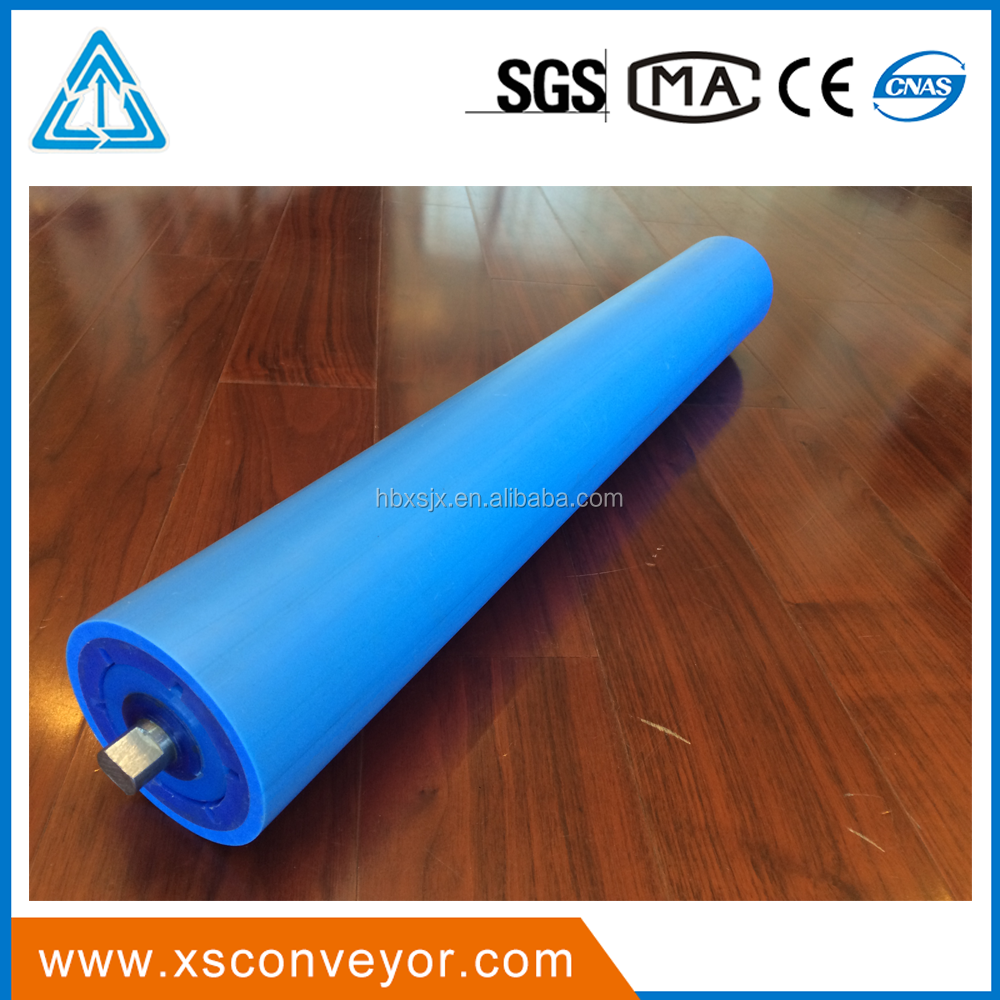 127mm*575*25 Polymer Idler <strong>roller</strong> for Belt Conveyor Trough <strong>Roller</strong>