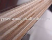 Laminated film faced plywood for formwork