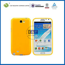 C&T tpu rubber case for samsung galaxy note 2 n7100