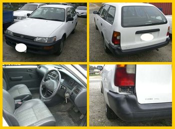 Nice Running Condition Toyota Corolla Van