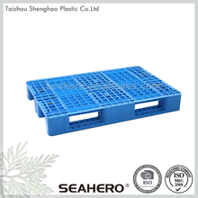 high quality warehouse plastic pallets of mixed goods factory manufacture various single tray plastic pallet