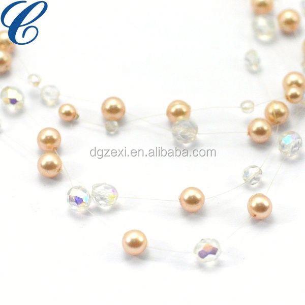 Korean Fashion Cute Kids Girls Princess Vintage Pearl Necklace Jewelry