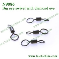 with diamond big eye carp fishing swivel