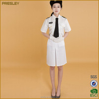 Navy uniforms, unisex air force uniforms for summer China supplier OEM