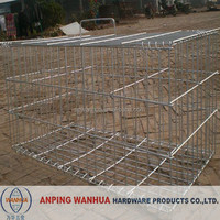 high quality welded wire mesh dog cage anping factory