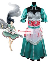 Fantasia Anime Lolita Dress-Hot Sale Alice: Madness Returns Alice Dress Cosplay Costumes Game Cosplay Costume C0048