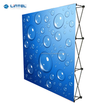 floor standing straight backdrop banner display foe sale