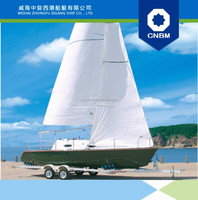 7.7m FRP Luxurious Coastal Sailboat