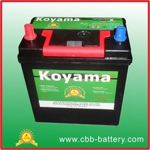 Lead acid battery automotive battery MF car battery NS40ZMF-12V35Ah