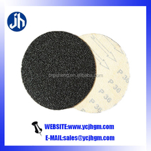 black silicon carbide sand paper disc for glass polishing